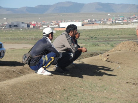 Mongolian Squatting